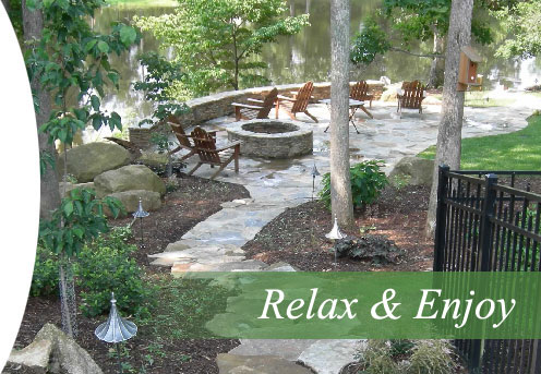 Design Build Landscaping Outdoors - Mr Landscape Design Build Raleigh, NC - Planting, Hardscapes